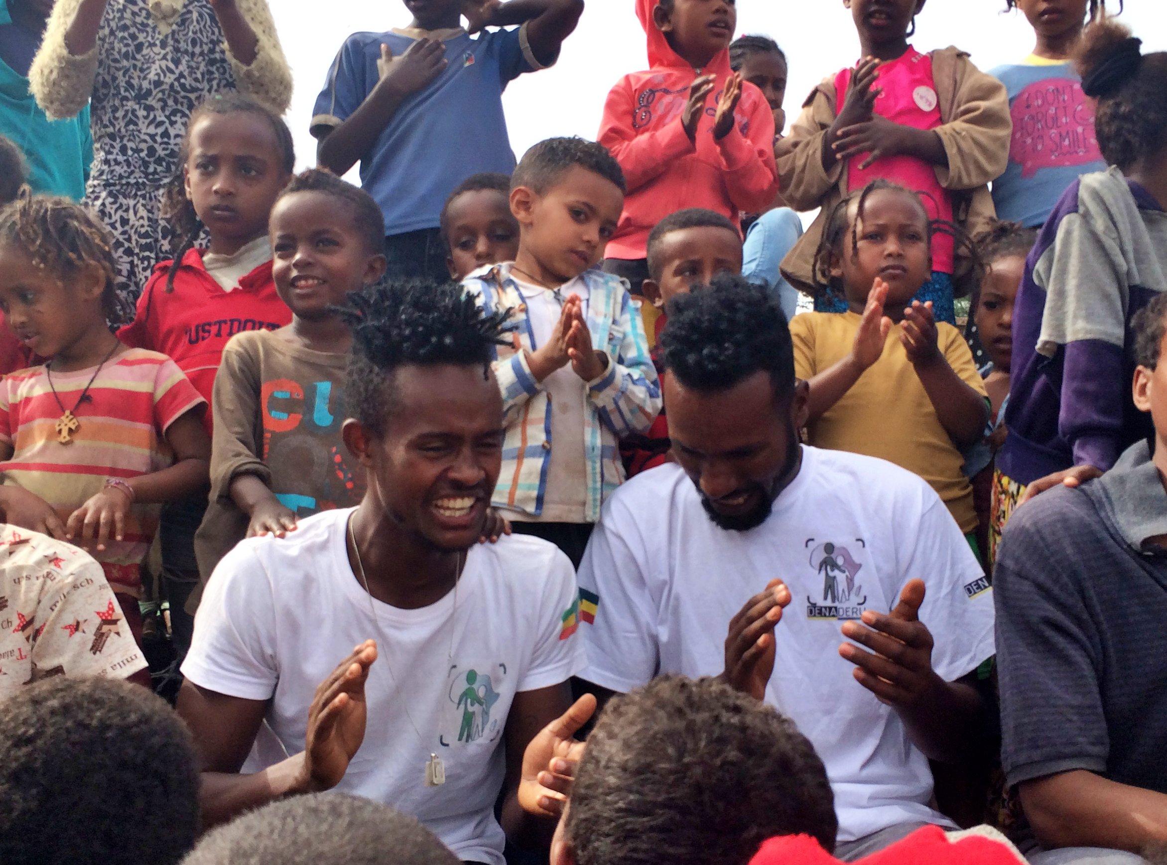 Equipo en Etiopía